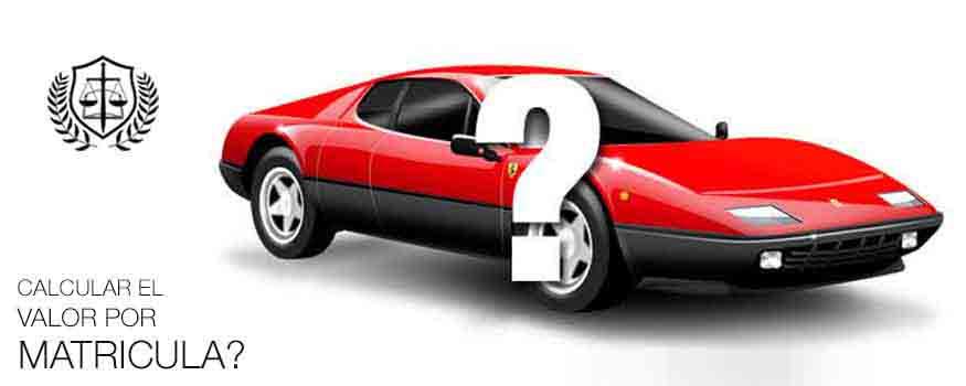 Calcular precio coche por matricula