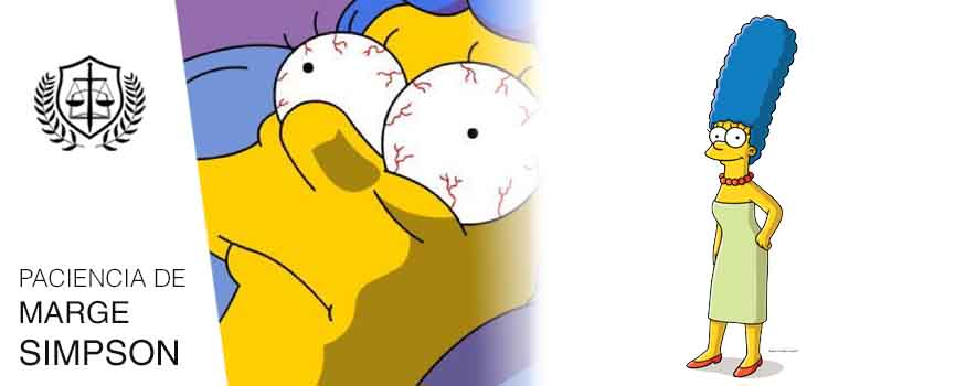 Rasgos de todo Perito Paciencia de Marge Simpson