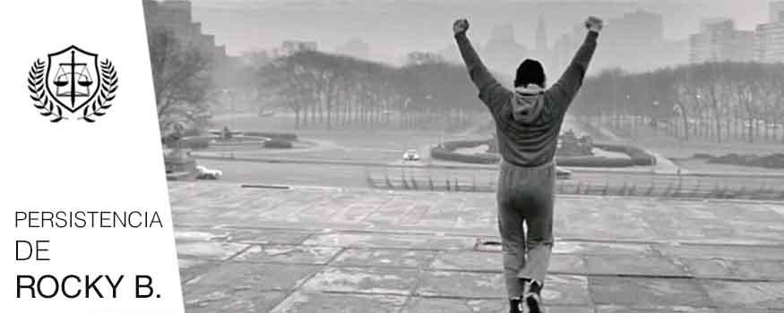 Rasgos de todo Perito persistencia de Rocky Balboa