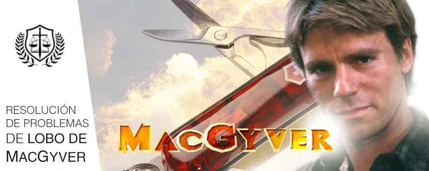 Rasgos de todo Perito resolucion de problemas de Macgyver