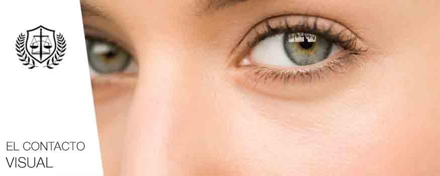 El lenguaje Corporal contacto visual