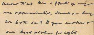 Escritura con caracteres pequeños Perito Grafolofo
