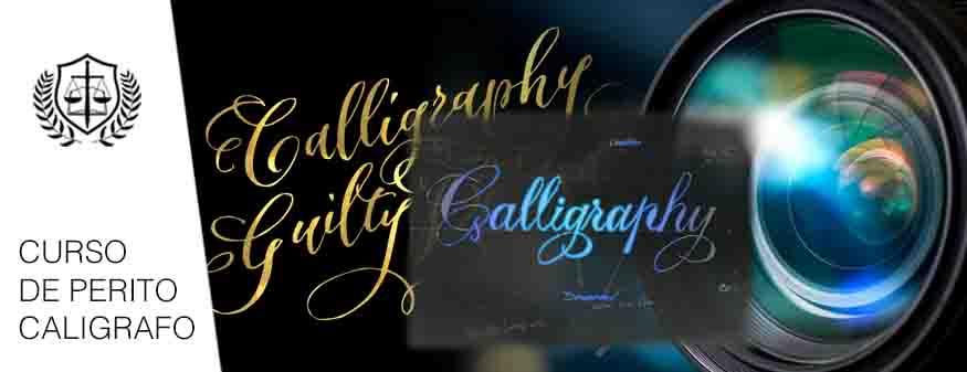 Curso Perito Caligrafo Grafologo Caligrafia
