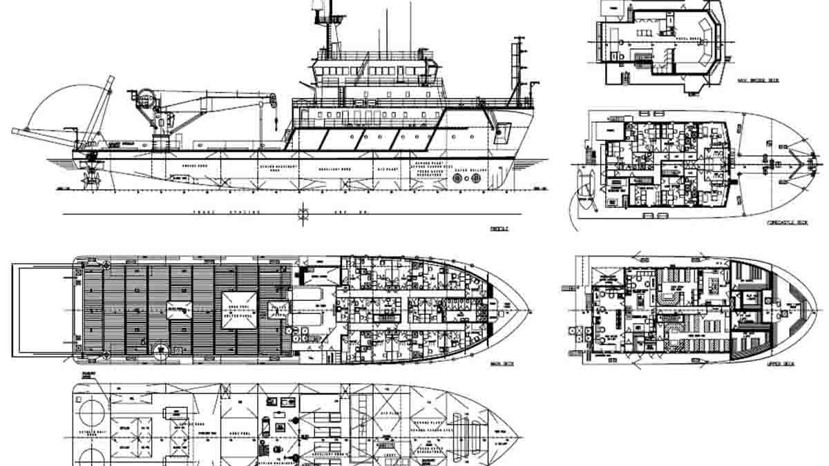 Perito Arquitecto Naval en construcción de barcos y buques