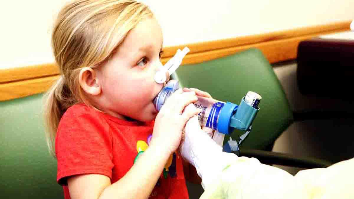 Pericial sobre tratamiento de problemas en pulmones en niños
