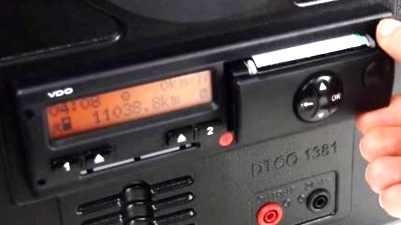 Cómo funciona el Tacógrafo Digital