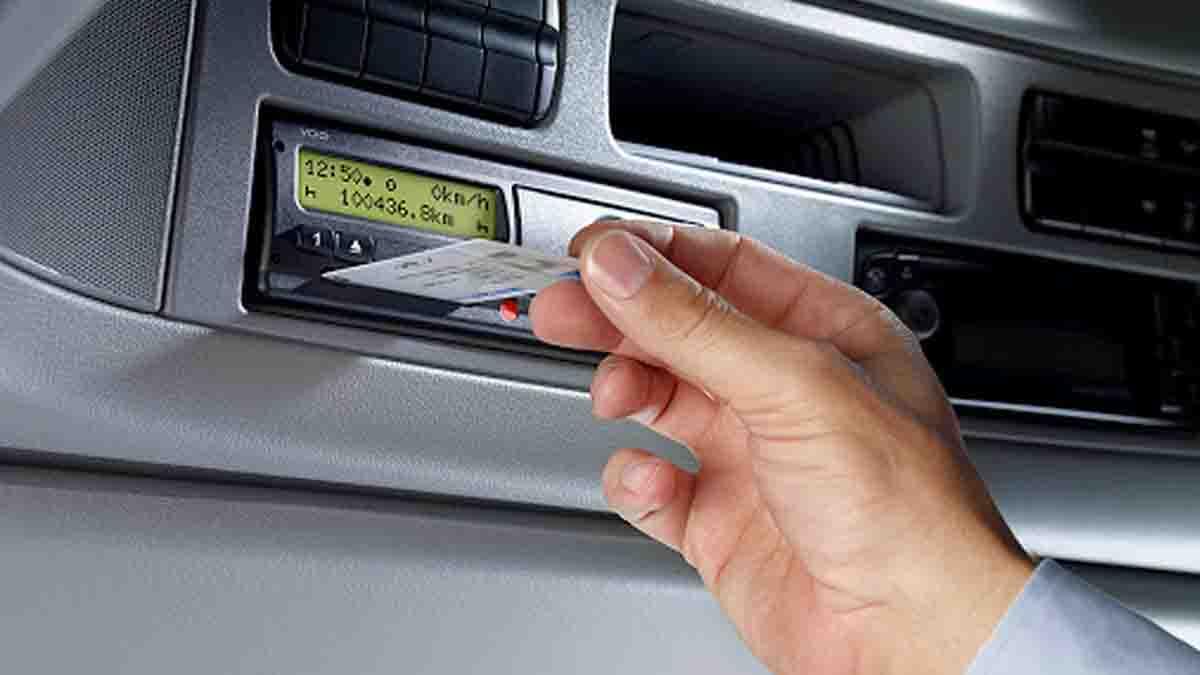 Tarjeta tacógrafo digital de conductor