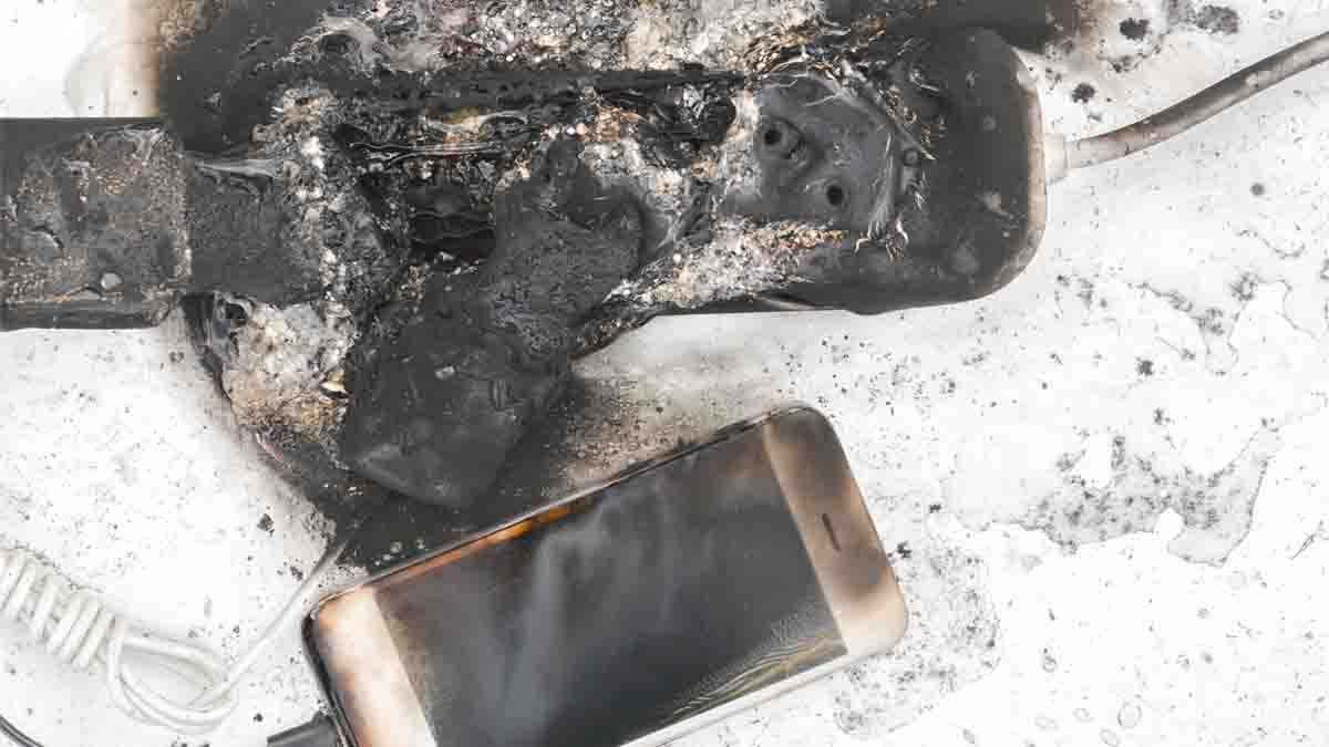 Perito en Accidentes con Baterías. Gases y humo del litio