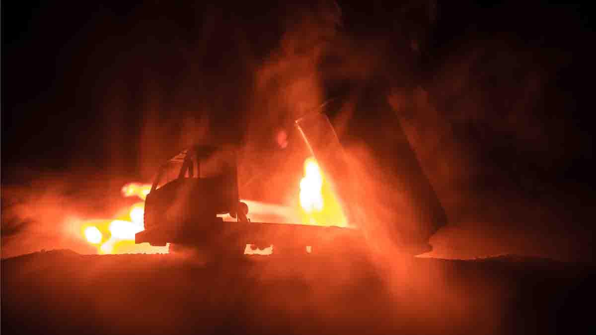 Perito en Incendios en Camiones, causante y aseguramiento